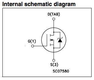 mosfet internal